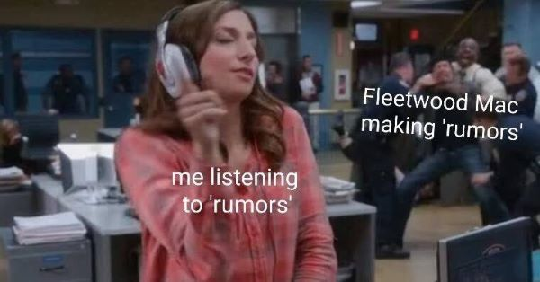 Fleetwood Mac Rumours meme