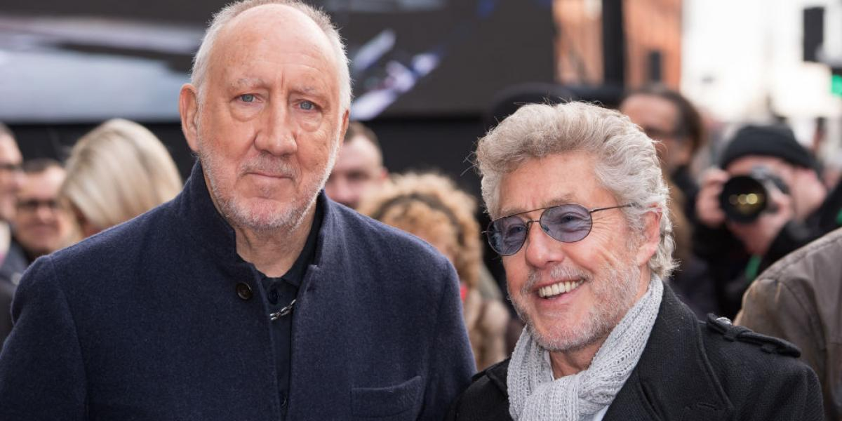 LONDON, ENGLAND - NOVEMBER 19: (L-R) Roger Daltrey and Pete Townshend from The Who attend the Music Walk Of Fame Founding Stone Unveiling at The Jazz Cafe on November 19, 2019 in London, England. (Photo byLONDON, ENGLAND - NOVEMBER 19: (L-R) Roger Daltrey and Pete Townshend from The Who attend the Music Walk Of Fame Founding Stone Unveiling at The Jazz Cafe on November 19, 2019 in London, England. (Photo by Jeff Spicer/Getty Images)