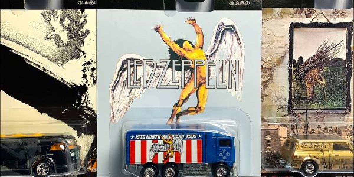 Led Zeppelin Hot Wheels Car Collection