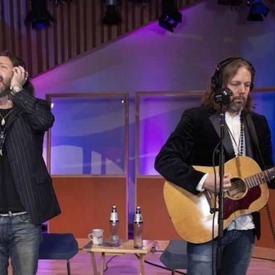 Black Crowes live at KCRW