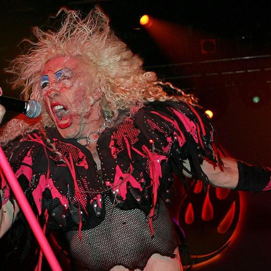 Twisted Sister singer Dee Snider performs at The Joint inside the Hard Rock Hotel & Casino September 2, 2006 in Las Vegas, Nevada. (Photo by Ethan Miller/Getty Images)