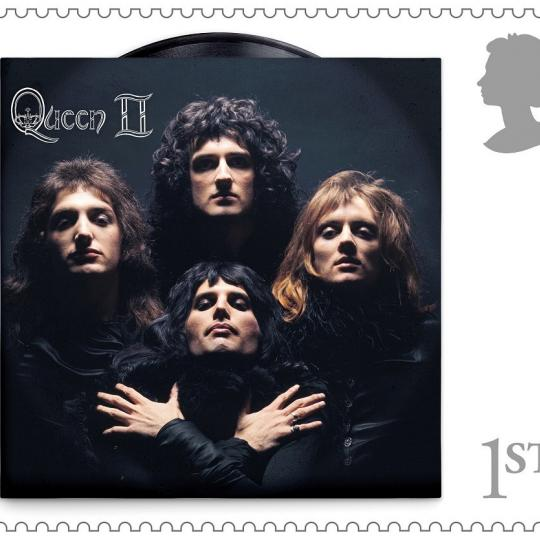 Queen II UK stamp