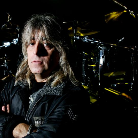 Mikkey Dee, United Kingdom, 2006. He is best known as the drummer for the British rock band Motorhead.