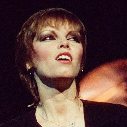 LONDON, UNITED KINGDOM - OCTOBER 18: Pat Benatar performs on stage on the 'Crimes of Passion' tour, at The Dominion Theatre on 18th October 1980 in London, United Kingdom. (Photo by Pete Still/Redferns)