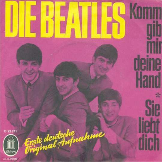 "Die Beatles - German for ""The Beatles"""