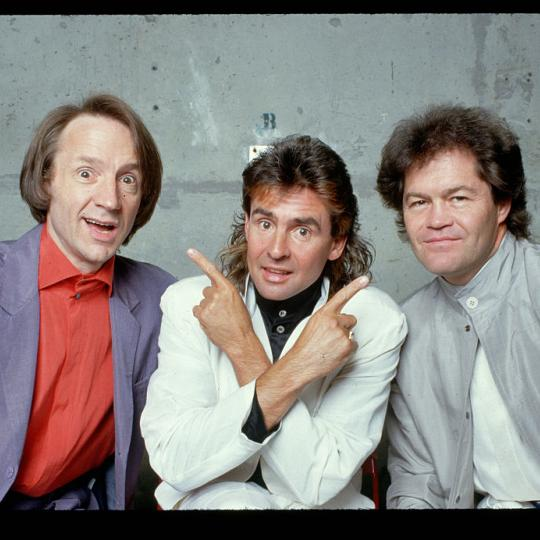 The Monkees in 1986