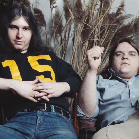 L-R: Jim Steinman and Meat Loaf