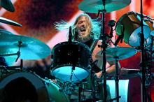 Taylor Hawkins of the band The Foo Fighters performs during the 2019 Bourbon & Beyond Music Festival at Highland Ground on September 20, 2019 in Louisville, Kentucky. (Photo by Stephen J. Cohen/Getty Images)