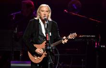 Joe Walsh of the Eagles performs at MGM Grand Garden Arena on September 27, 2019 in Las Vegas, Nevada. (Photo by Ethan Miller/Getty Images)