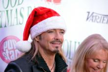 Musician Bret Michaels attends the 88th annual Hollywood Christmas Parade on December 01, 2019 in Hollywood, California. (Photo by Michael Tullberg/Getty Images)