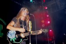 Bret Michaels of Poison performs circa 1990s. during Bret Michaels - File Photos in New York, NY, United States. (Photo by Steve Granitz/WireImage)