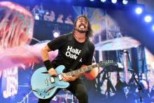 SEPTEMBER 22: Dave Grohl of Foo Fighters performs onstage during day 2 of the 2019 Pilgrimage Music & Cultural Festival on September 22, 2019 in Franklin, Tennessee. (Photo by Erika Goldring/Getty Images for Pilgrimage Music & Cultural Festival)