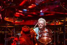 Joey Kramer of Aerosmith performs on the Sunset Cliffs Stage during the 2016 KAABOO Del Mar at the Del Mar Fairgrounds on September 17, 2016 in Del Mar, California. (Photo by WireImage for KAABOO Del Mar via imageSPACE)