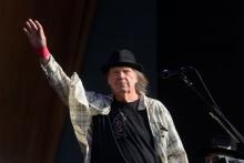 ULY 12: Neil Young performs on stage in Hyde Park on July 12, 2019 in London, England. (Photo by Matthew Baker/Getty Images)