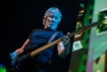 "Roger Waters performs in concert during his ""Us + Them"" tour at Friends Arena on August 18, 2018 in Stockholm, Sweden. (Photo by MICHAEL CAMPANELLA/Redferns)"