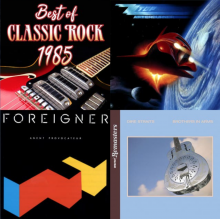 Classic Rocker's Best of 1985 Playlist