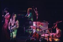 Grand Funk Railroad Performing in Concert (Photo by Lynn Goldsmith/Corbis/VCG via Getty Images)