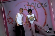 NEW YORK, NY - CIRCA 1981: Daryl Hall and John Oates circa 1981 in New York City. (Photo by Mick Rock/IMAGES/Getty Images)