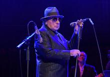 "LONDON, ENGLAND - OCTOBER 30: Van Morrison performs at ""A Night At Ronnie Scotts: 60th Anniversary Gala"" at the Royal Albert Hall on October 30, 2019 in London, England. (Photo by David M. Benett/Dave Benett/Getty Images for Ronnie Scotts)"