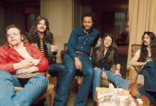 The Doobie Brothers in 1974.
