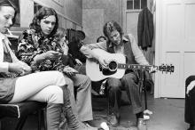 Bobby Whitlock (left) and Eric Clapton, 1970