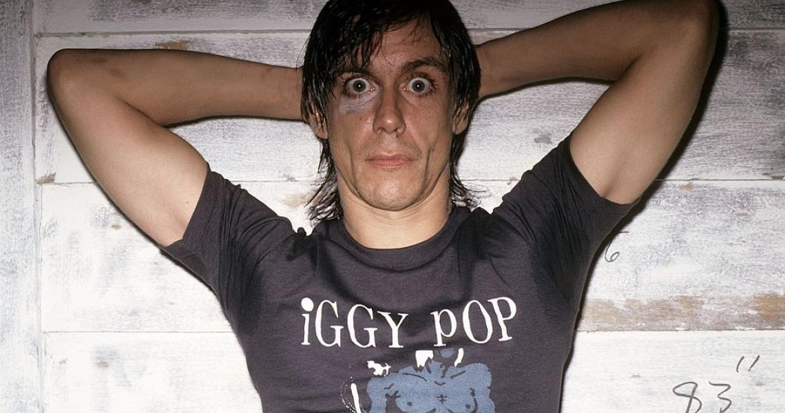 AUGUST 01: Photo of Iggy POP (Photo by Peter Noble/Redferns)