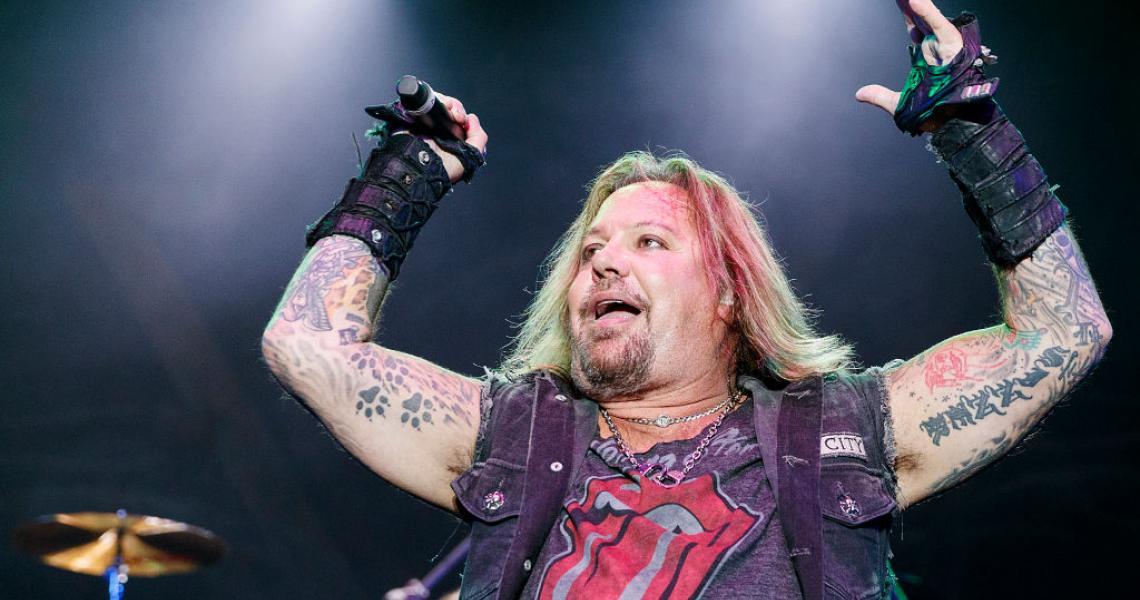Vince Neil performs on stage during Summer Night Concerts at PNE Amphitheatre on August 22, 2019 in Vancouver, Canada. (Photo by Andrew Chin/Getty Images)