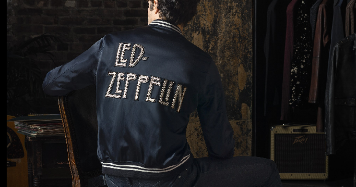 A jacket from the Led Zeppelin X John Varvatos collection