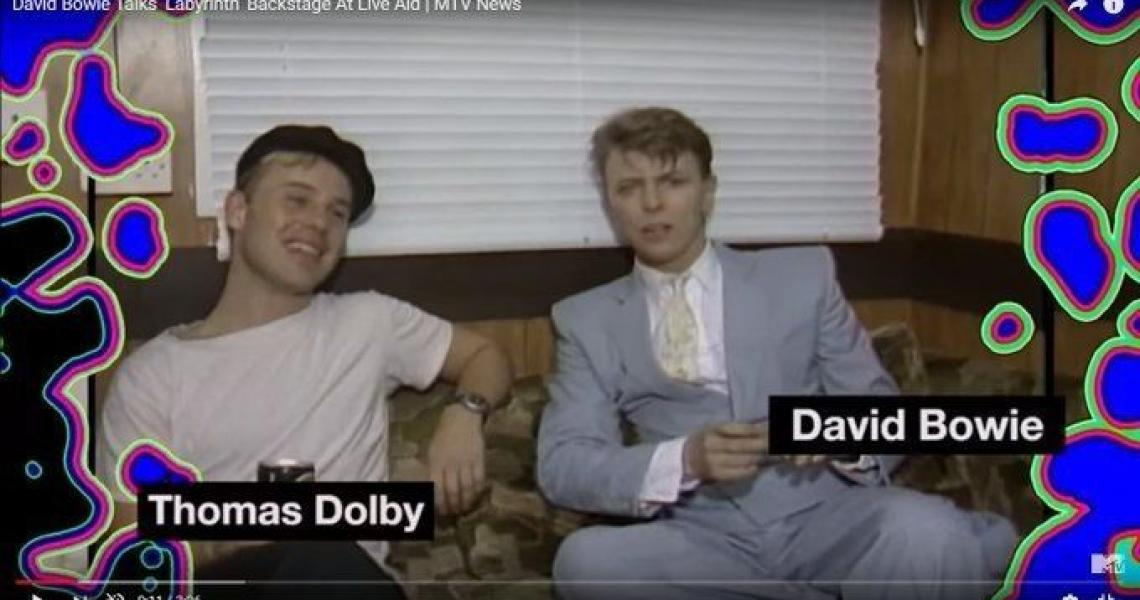 Bowie and Dolby