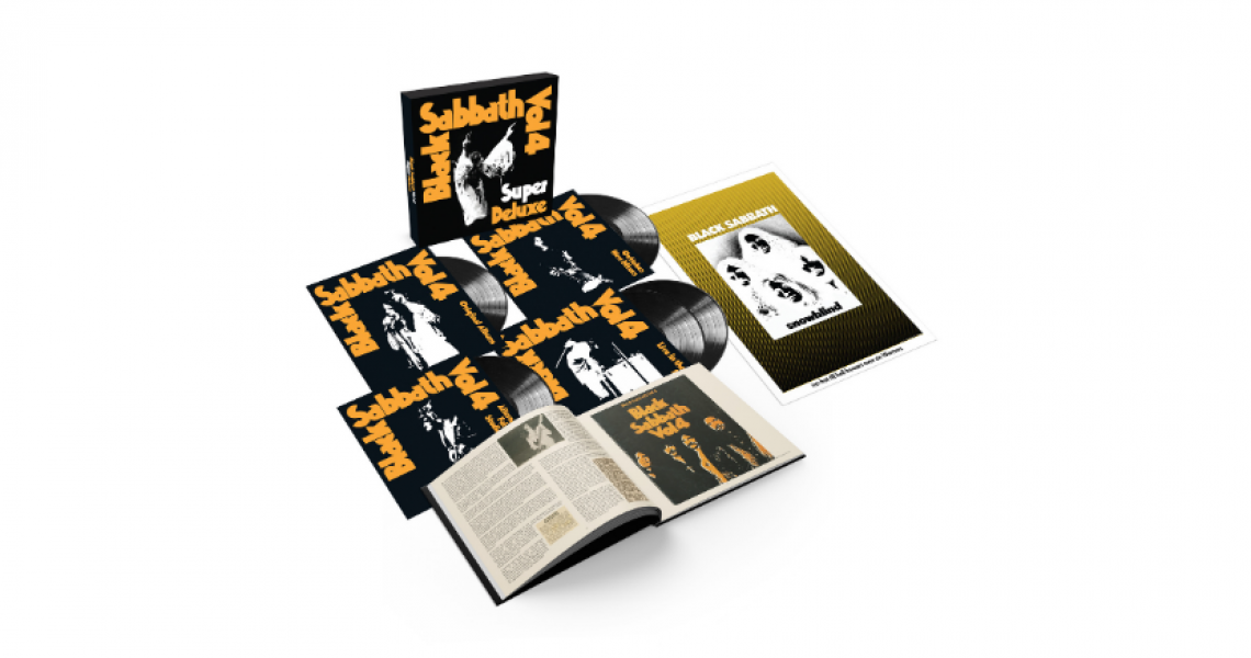 Black Sabbath's 'Vol. 4' super deluxe box set