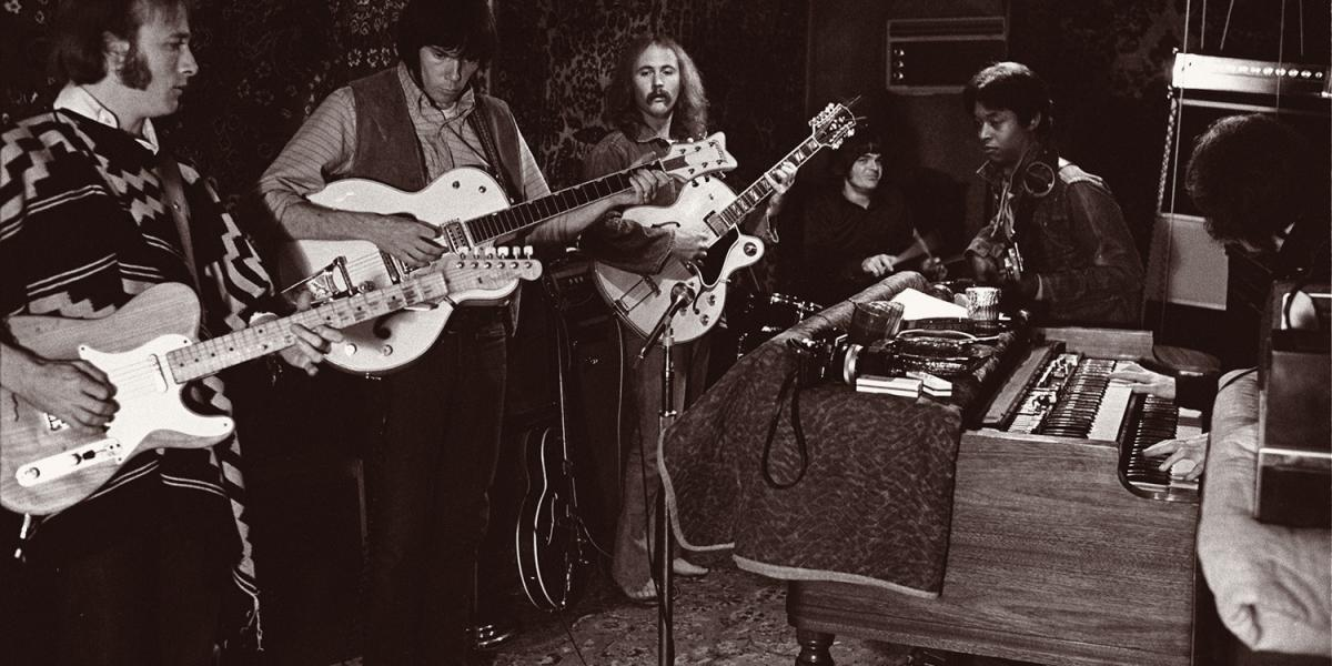 Crosby, Stills, Nash & Young with Dallas Taylor and Greg Reeves