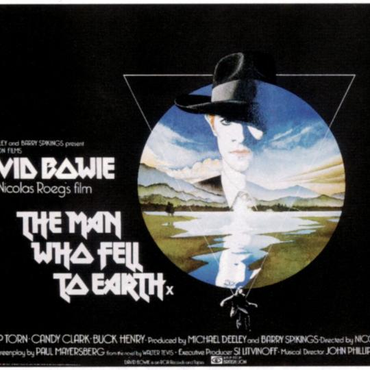 The poster for 'The Man Who Fell to Earth'