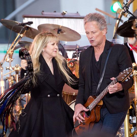Stevie Nicks and Lindsey Buckingham of Fleetwood Mac, 2014