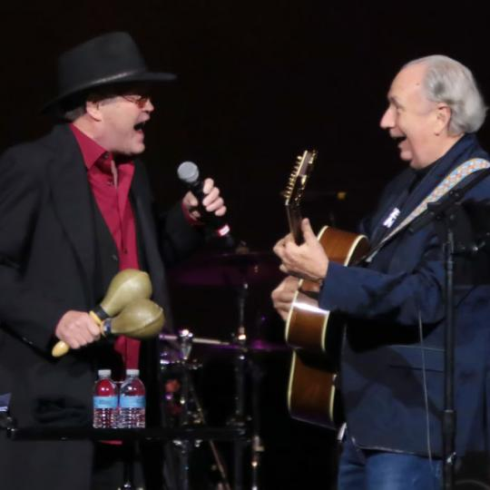 Micky Dolenz and Mike Nesmith in concert, 2019