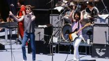 (MANDATORY CREDIT David Tan/Shinko Music/Getty Images) Hall And Oates live in California, CA, June 14, 1981. (Photo by David Tan/Shinko Music/Getty Images)