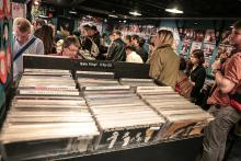 A Record Store Day event in England, 2013